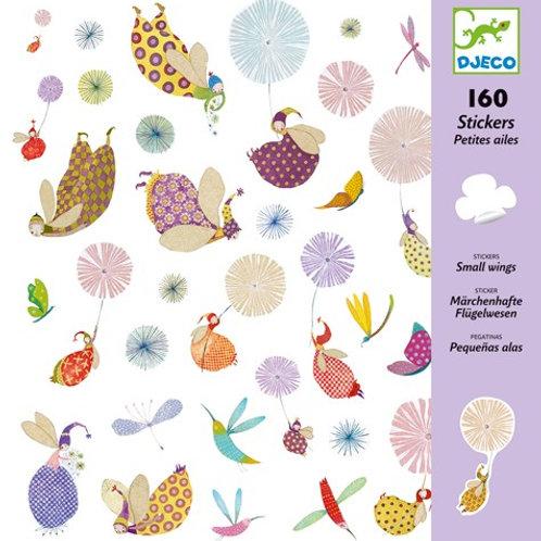 Sticker-Set - 160 Sticker - Flügelwesen
