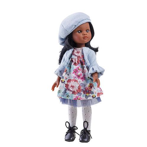 VE 3 Puppen : Paola Reina Norma -  dunkles Mädchen