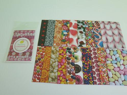 INSTAX Mini Fotorahmen-Aufkleber - 20 Stück Candy
