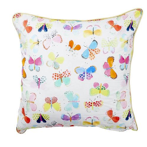 Wunderschönes grosses Kissen Schmetterling 60 x 60