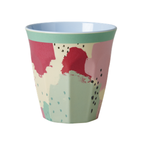 Grosser Becher - Farben Splash