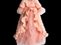 Mega Prinzessinenkleid Corall