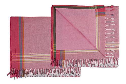 Wunderschönes Strandtuch - Pink - KT1001/8