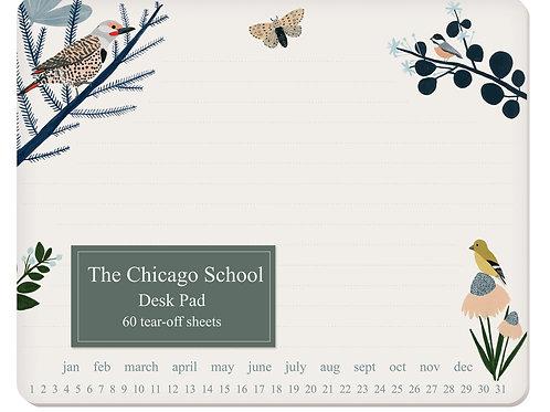 Toller Desk Pad mit 60 Seiten - Vögel und Beste