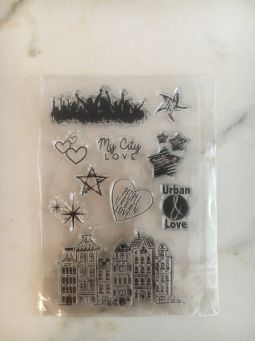 """Clearstamps Nr. 66 """"Stadt"""""""