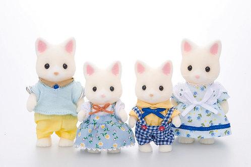 4er Set - Katzenfamilie Silk Cat