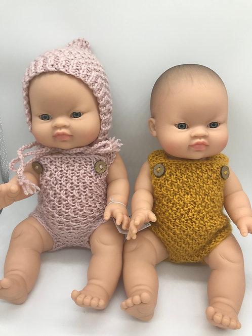 Puppemädchen von Paola Reina inkl. Outfit