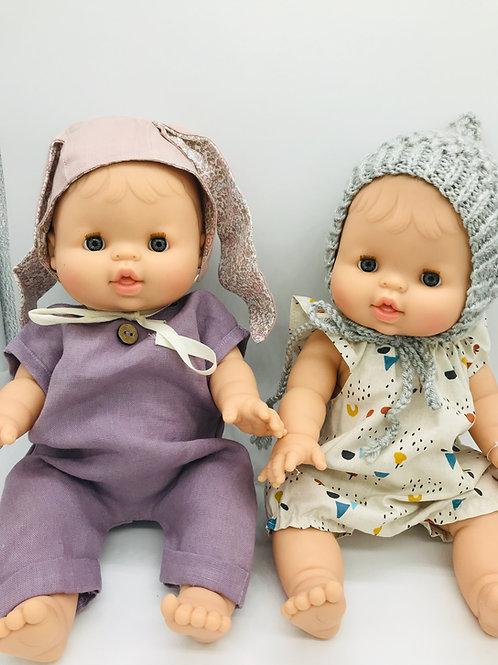 Puppen Mädchen von Paola Reina inkl.Outfit