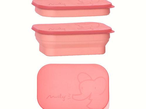 Lunchbox vom Maileg- Faltbar - coral