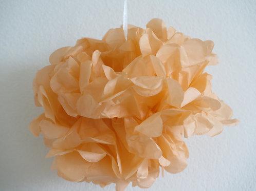 Pompom apricot