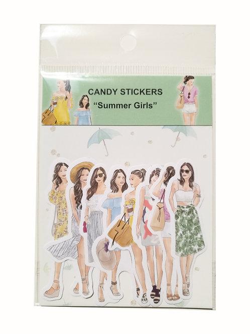 "Candy Sticker-Set ""Sommer"""