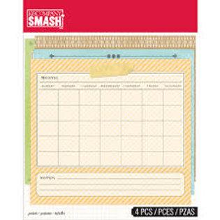 SMASH Pockets - Taschen mit Daten / Wochentagen