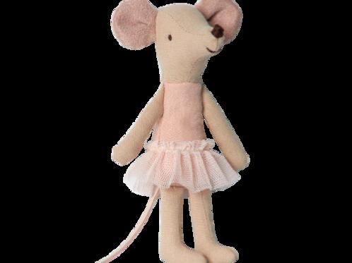 Maus-Mädchen Ballerina  -  13 cm
