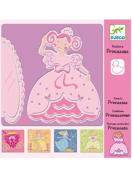 Schablonen - Prinzessin