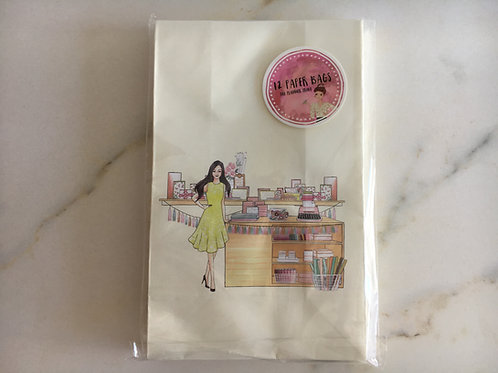 12 hochwertige Geschenktüten - Papeterie Girl