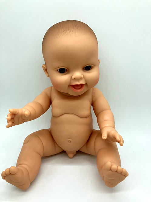 Puppenjunge von Paola Reina mit braunen Augen