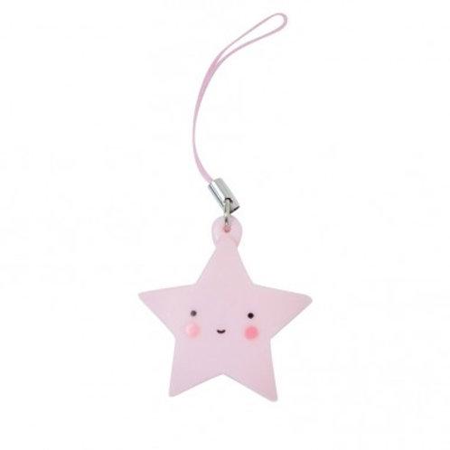 Süsser kleiner Anhänger - Stern rosa