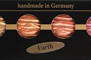 Perlglanz Wasserfarben Coliro 6er Set - Earth