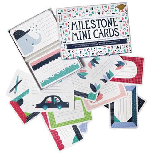 Milestone Mini Karten Set - 100 Kärtchen