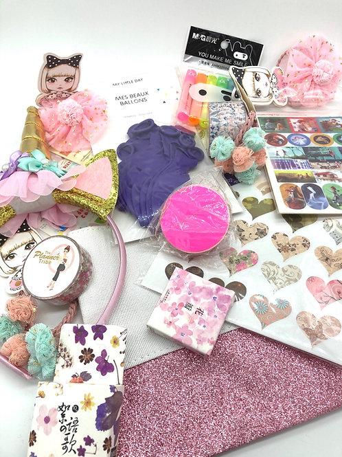 Geburtstagspartybox - Preisli für Geburtstagsparties