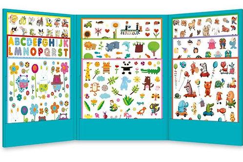 Sticker-Set - 1000 Sticker für Kleine