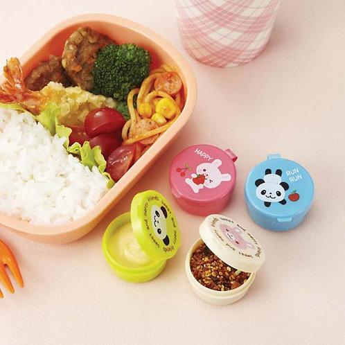 4er Set kleine Saucenbehälter für die Lunchbox