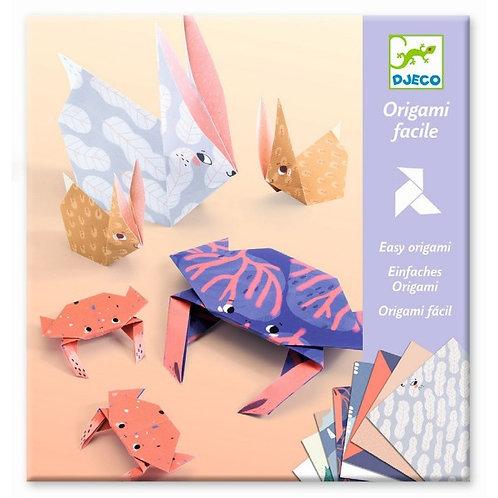 Origami Tierfamilie
