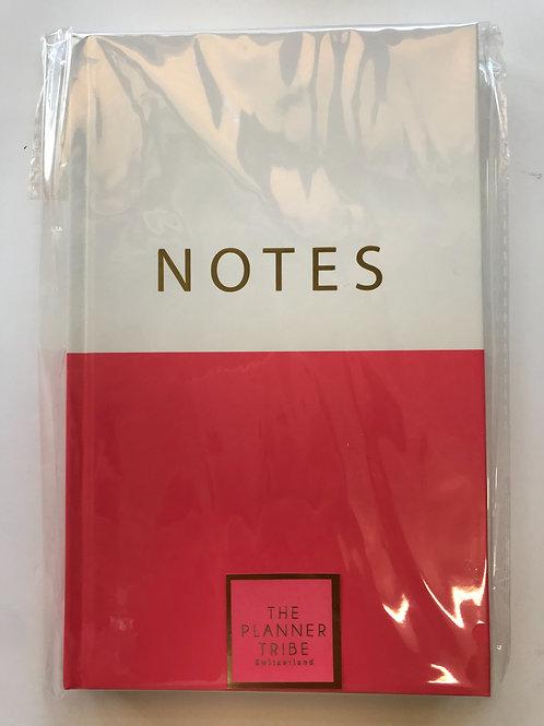 (10 Stk.) Stabiles Notizbuch NOTES mit Goldfolie von THE PLANNER TRIBE