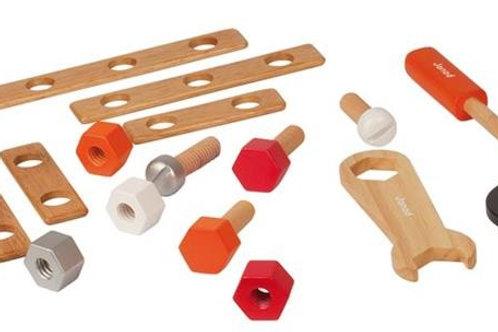 Werkzeugkiste aus Holz von Janod
