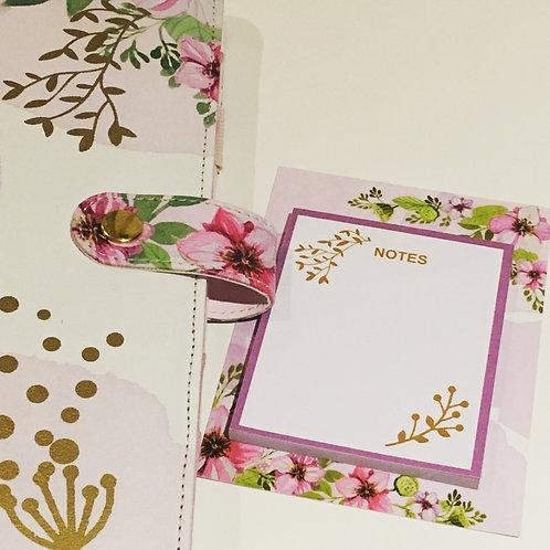 Post-its von The Planner Tribe - Purple Flowers