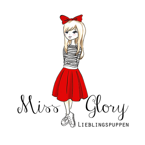 "Miss Glory - 45 cm Puppe ""Carla"" ohne Kleider"
