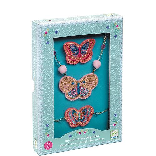 Schmuckset Schmetterlinge von Djeco