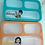 Thumbnail: NEU - Lunch Box Osaka klein - 3 Fächer inkl, Löffel - BPA frei - auslaufsicher