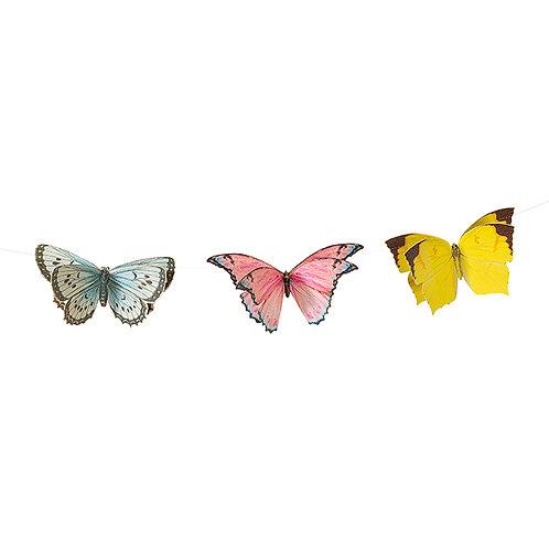 Schmetterlings Wimpeldeko