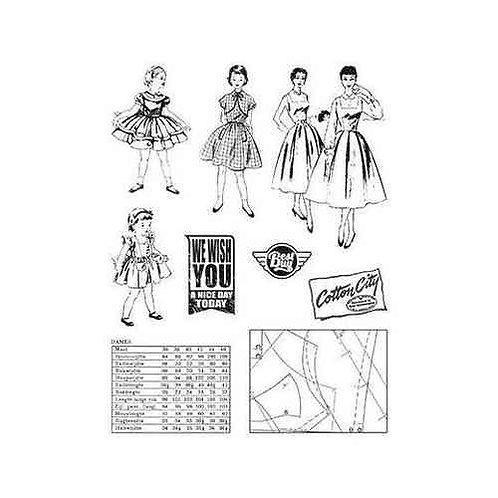 Clearstamps von Marianne Design  - Fabelhafte 50ies