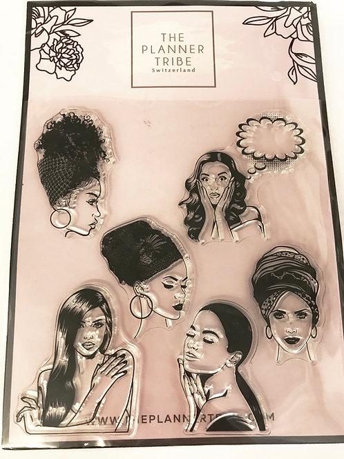 Clearstamps von THE PLANNER TRIBE - Fashion Ladies