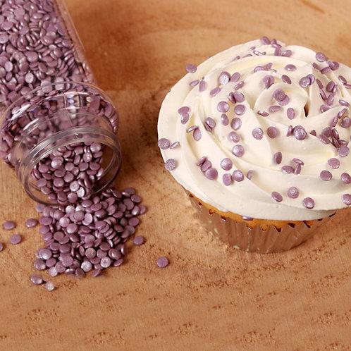 Zucker Confetti Violett 70 g von Funcakes