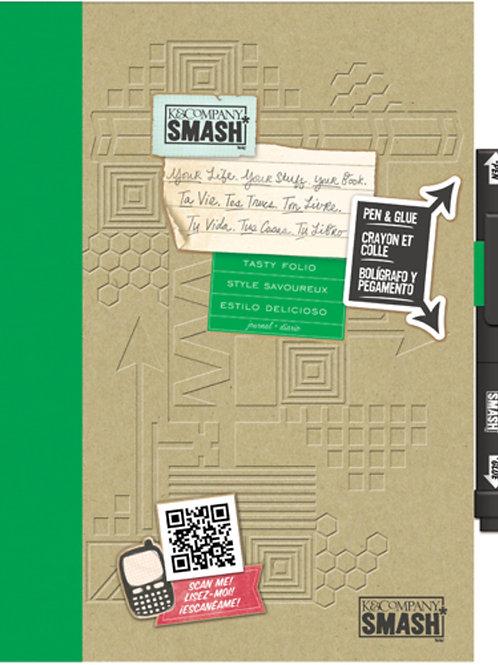 Smash Book inklusive Leim/Schreibstift