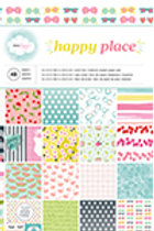 American Craft Paper Pad - Happy Place -48 Blätter