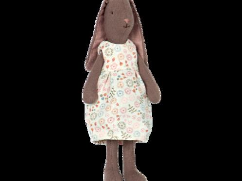 Mini Hase dunkel Ellie - 23 cm hoch