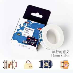 Masking Tape Koffer