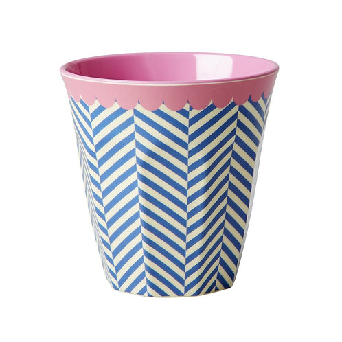 Grosser Becher - Navy/pink - Kollektion 2016
