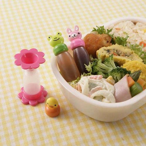 Kleine Soyasaucen Behälter für Lunchboxen