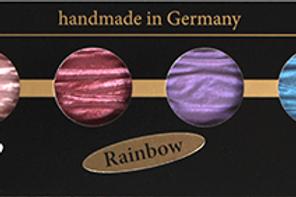 Perlglanz Wasserfarben Coliro 6er Set - Rainbow