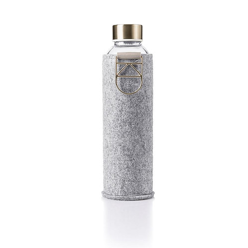EQUA Wasserflasche MixMatch Gold mit Filz - 750 ml