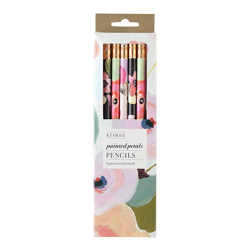 8er Set Blumen Bleistifte