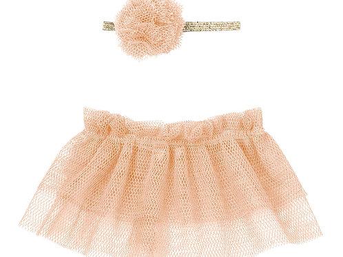 Tütü und Haarband für Mini Hasen - rosa