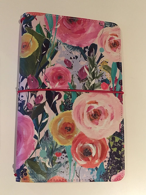 Travelers Notebook -Blumengarten