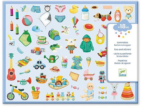 Sticker-Set für ganz Kleine - 362 Sticker - Meine Kleine Welt