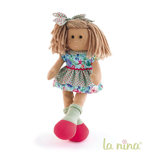 """Stoffpuppe """"Louise""""  38 cm"""